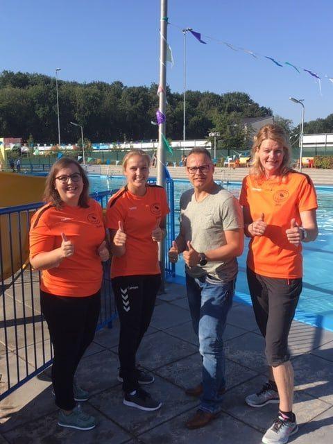 foto licentie verlenging zwemvereniging de watersnip
